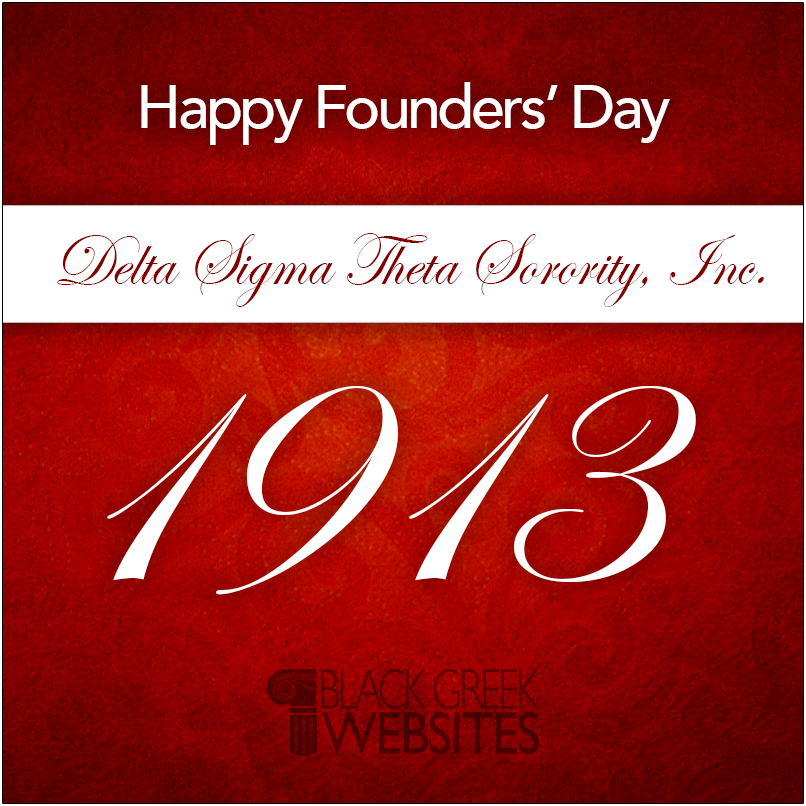 Happy Founders Day To The Deltas Black Greek Websites